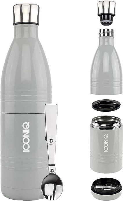 Thermos /à nourriture empilable en acier inoxydable ICONIQ Qore