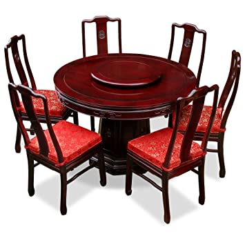Amazon.com - China Furniture Online Rosewood Dining Table, 48 ...