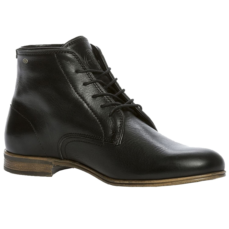 Sneaky Steve Mens Markham Leather Boots  45 EU|Schwarz