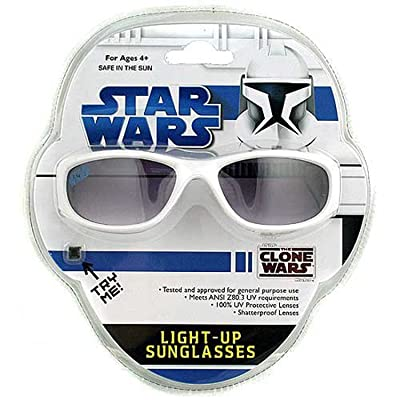 Star Wars The Clone Wars Light-Up Sunglasses: Toys & Games