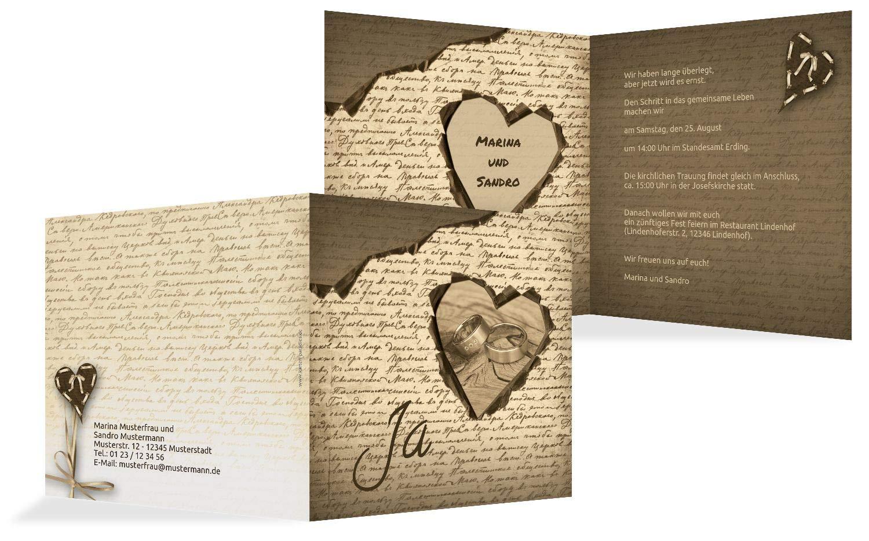 Hochzeit Einladung 2 Herzensgedicht, 10 Karten, TürkisGrauMatt B07HN4153Y   Verschiedene aktuelle Designs    Überlegene Qualität    Exzellente Verarbeitung