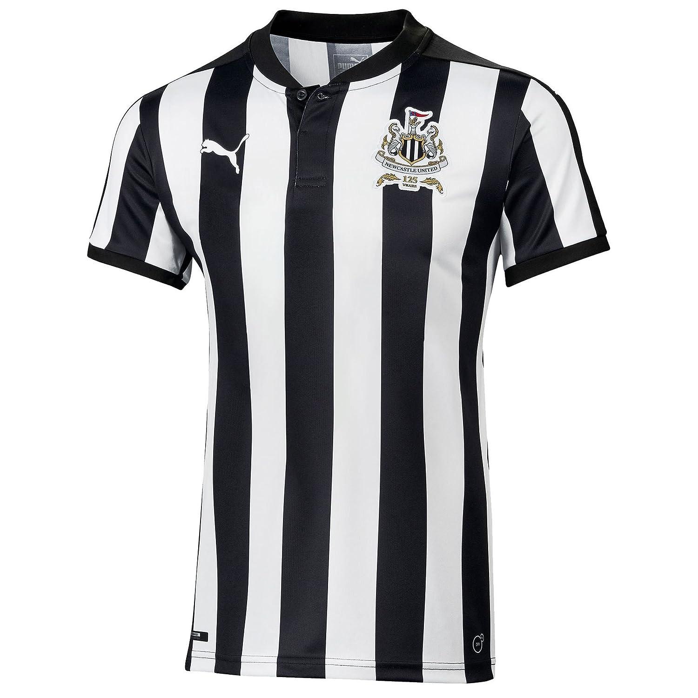 Puma Newcastle United 2017 18 Home Shirt Junior