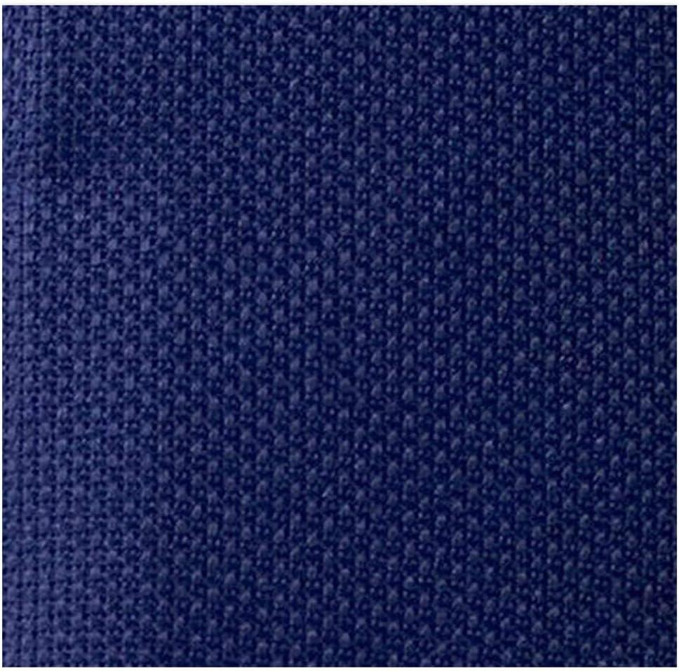 25X25Cm 14Ct White Cloth Pink Black Flaxen Green Cross Stitch Fabric Canvas DIY Handmade Needlework,Royal Blue,25X25Cm