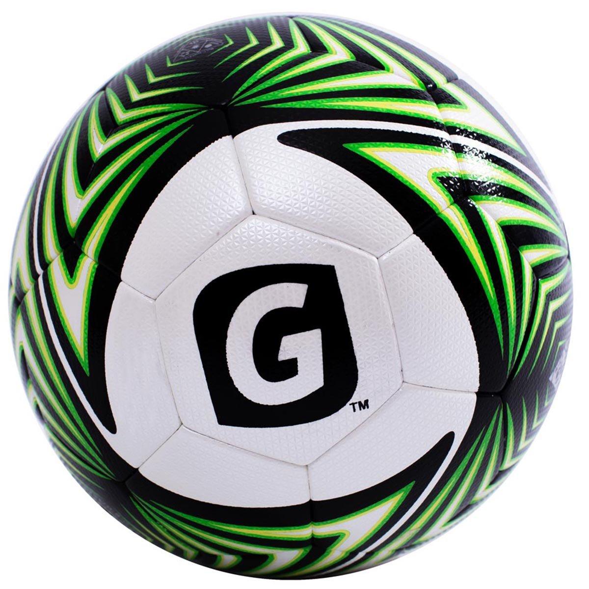 Glory Sports公式サイズPU一致とCompetitionサーモボンディングサッカーボール B01C5G0RRCグリーン 5