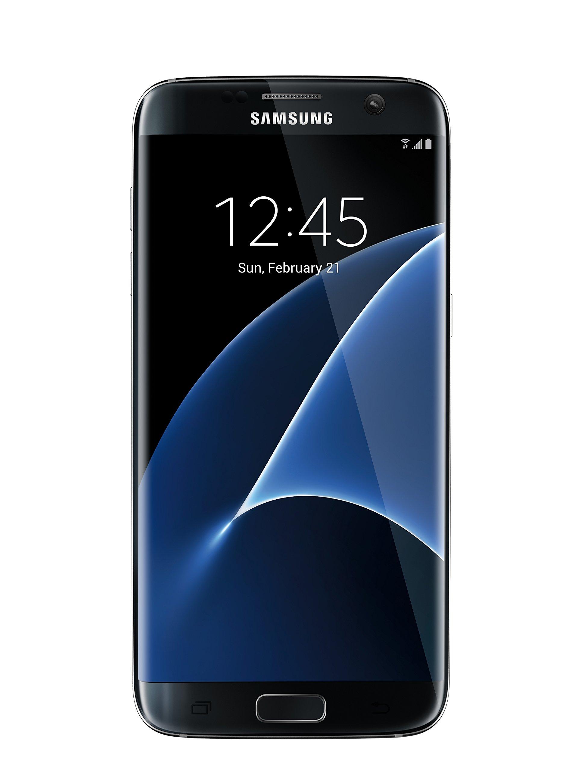 Samsung Galaxy S7 Edge G935F Factory Unlocked Phone 32 GB, No Warranty - International Version (Black Onyx) by Samsung (Image #1)
