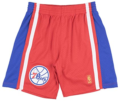 competitive price a6d86 1a60e Amazon.com : Mitchell & Ness Philadelphia 76ers NBA Men's ...