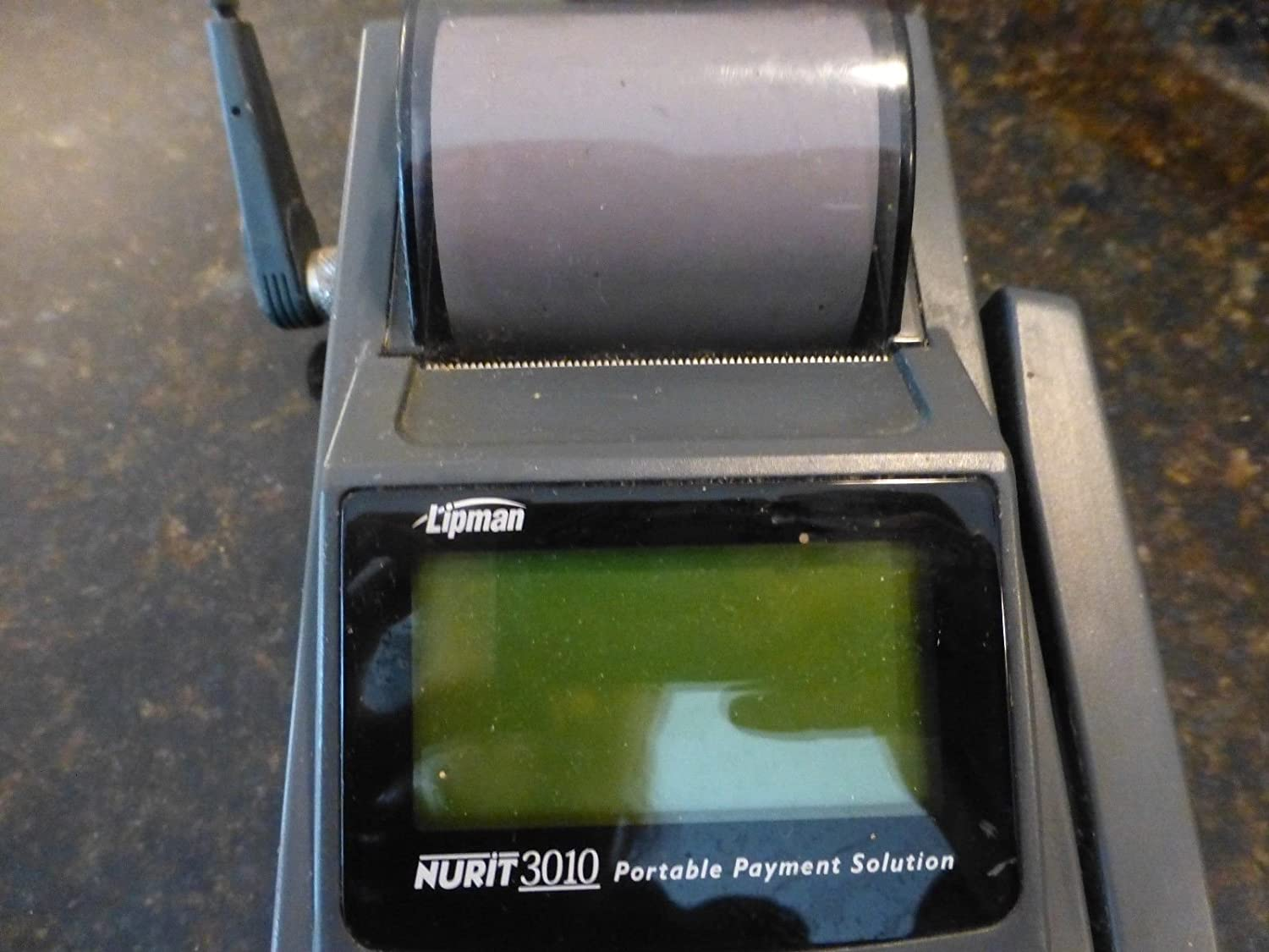 Amazon.com: Lipman Nurit 3010 portable payment R802D-2-0 credit card  terminal machine only: Everything Else