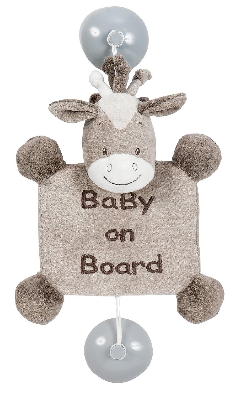 Nattou 424356 Saugnapf Baby on Board, Adèle & Valentine, Adèle der Elefant Adèle & Valentine Adèle der Elefant