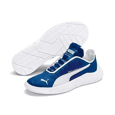 Puma Replicat X Circuit Low Boot Sneaker Galaxyblau Weiss
