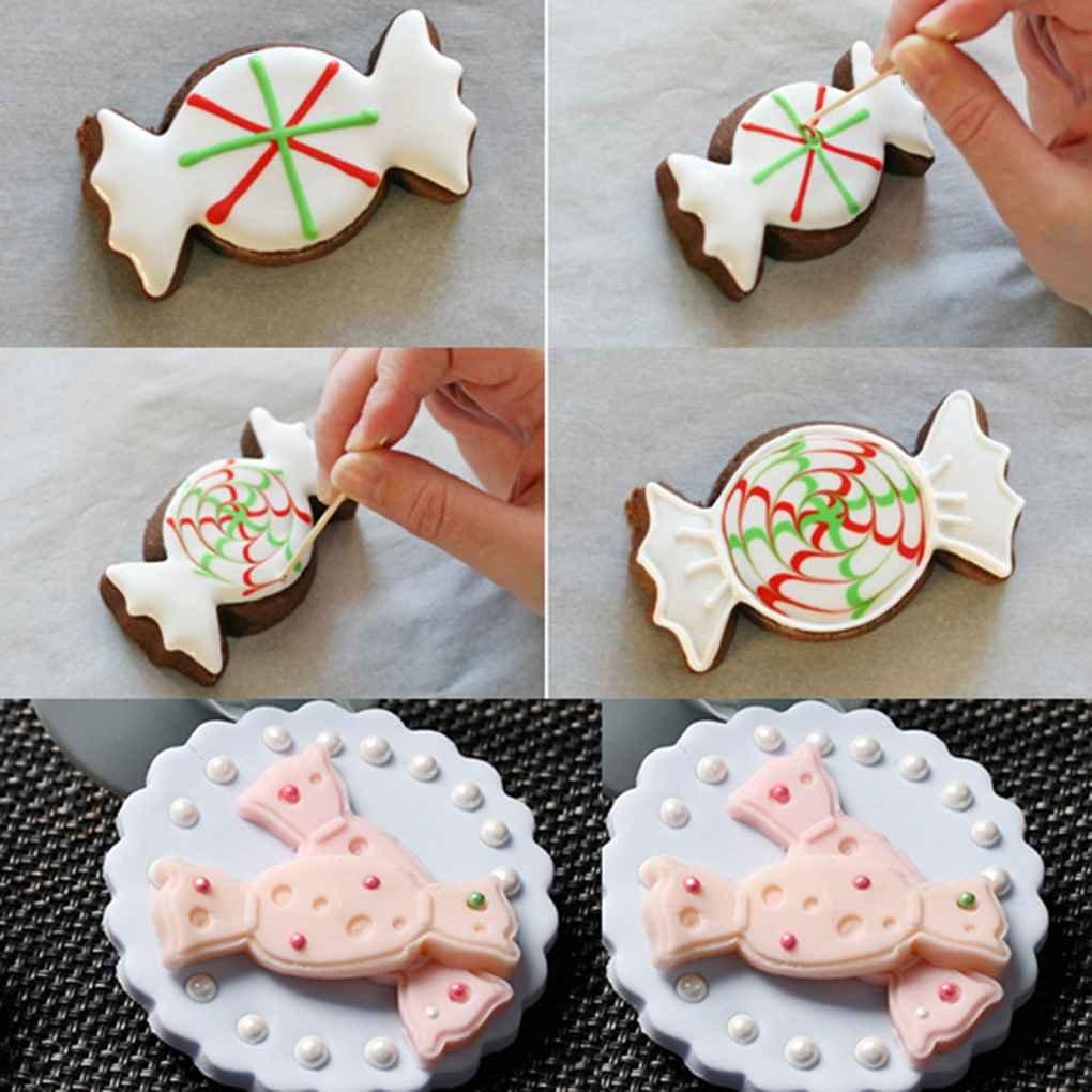 fish Cortador Sandwich caramelo Formas cortador de la galleta de acero inoxidable para adultos de los ni/ños