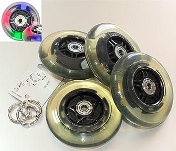 4 x p/U Bombilla de ruedas de repuesto ruedas Rueda Patinete ...