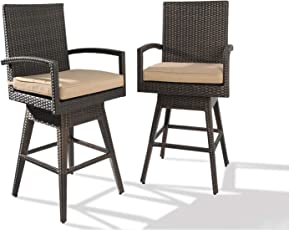 amazon com stools bar chairs patio lawn garden