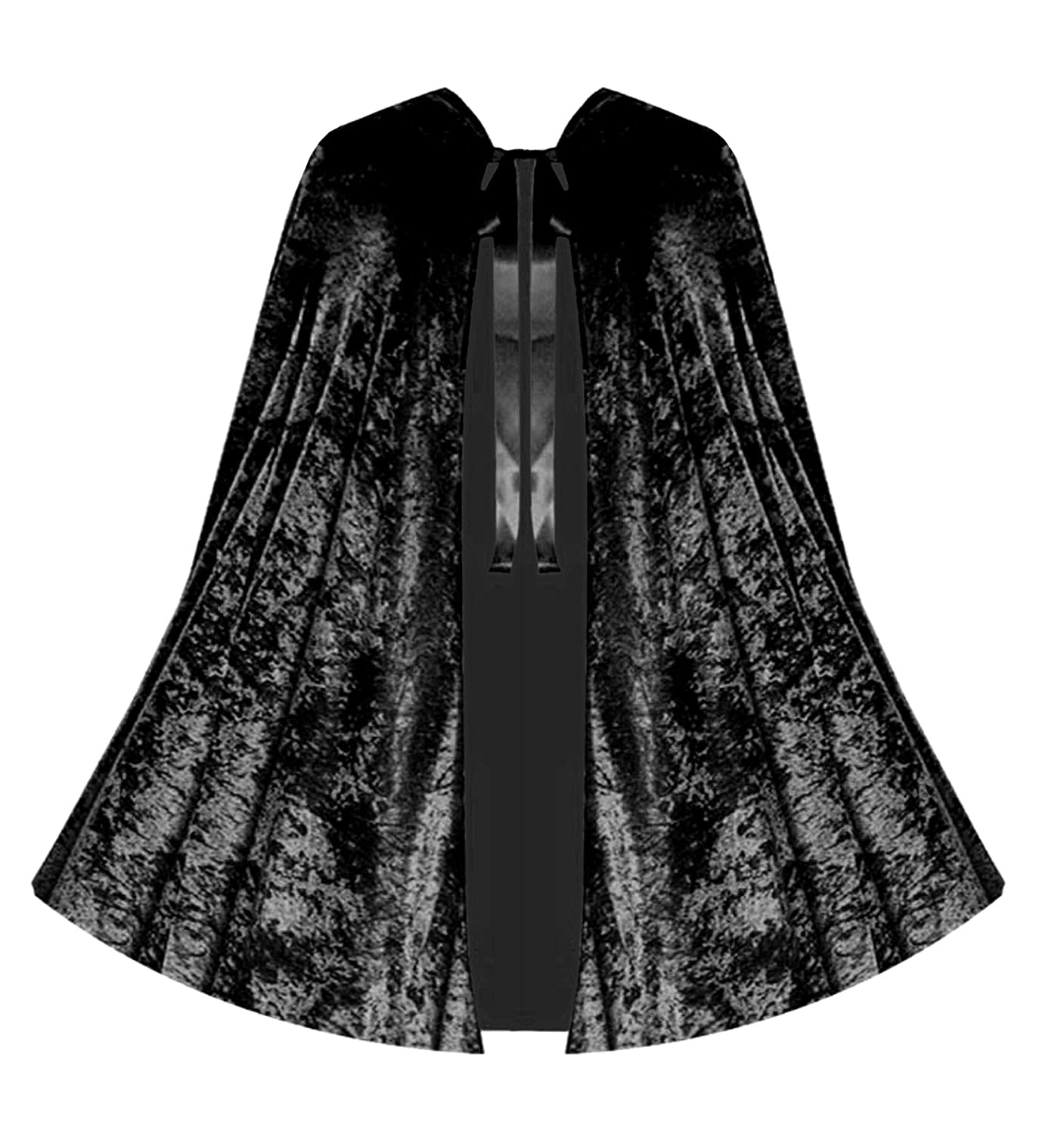 Victorian Wraps, Capes, Shawl, Capelets Victorian Vagabond Gothic Game of Thrones Renaissance Steampunk Velvet Capelet Black $46.00 AT vintagedancer.com