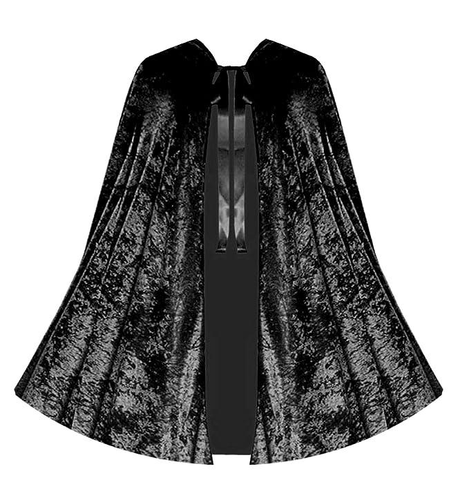 VictorianInspiredWomensClothing Victorian Vagabond Gothic Game of Thrones Renaissance Steampunk Velvet Capelet Black $42.00 AT vintagedancer.com