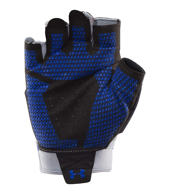 86d4702e73 Amazon.com : Under Armour Men's Flux Half-Finger Training Gloves : Clothing