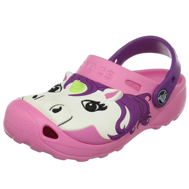 Crocs Toddler Unicorn Clog Pink Lemonade 669 110 6 Child UK