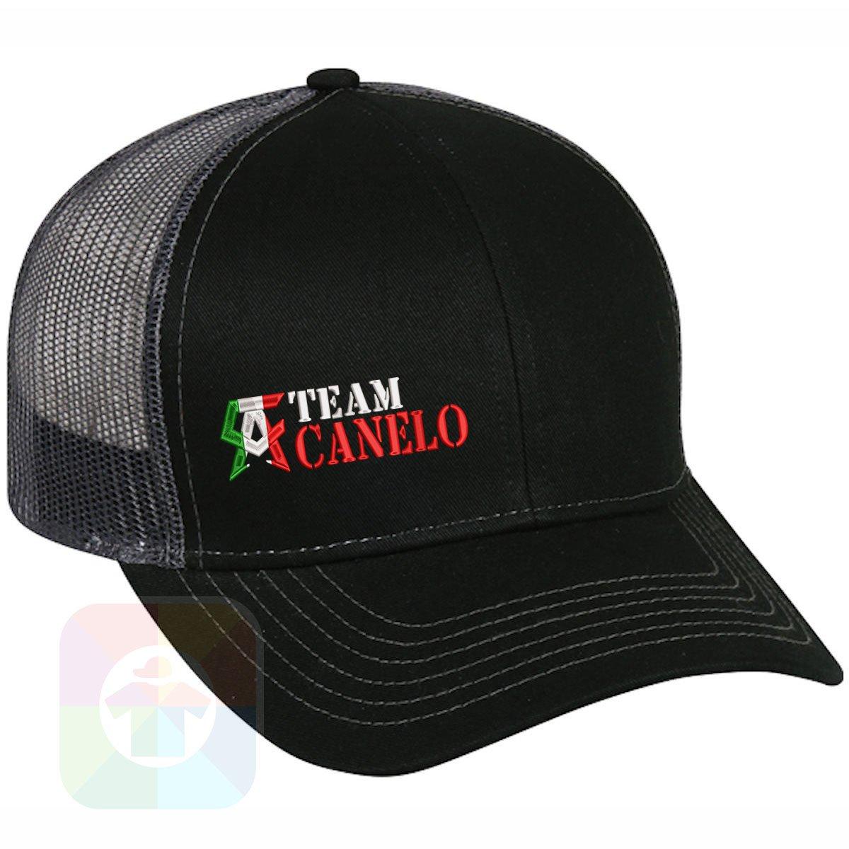 1f268d2239918 Custom Tshirts and Hats Boxing Canelo Structured Snapback Baseball Mesh Hat  Cap  2244