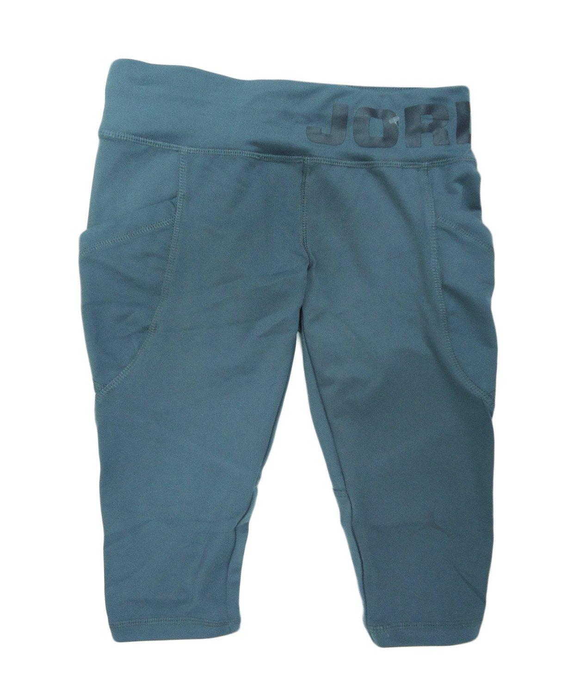 Girl's Jordan Athletic Sports Pants (S, Cool Grey)