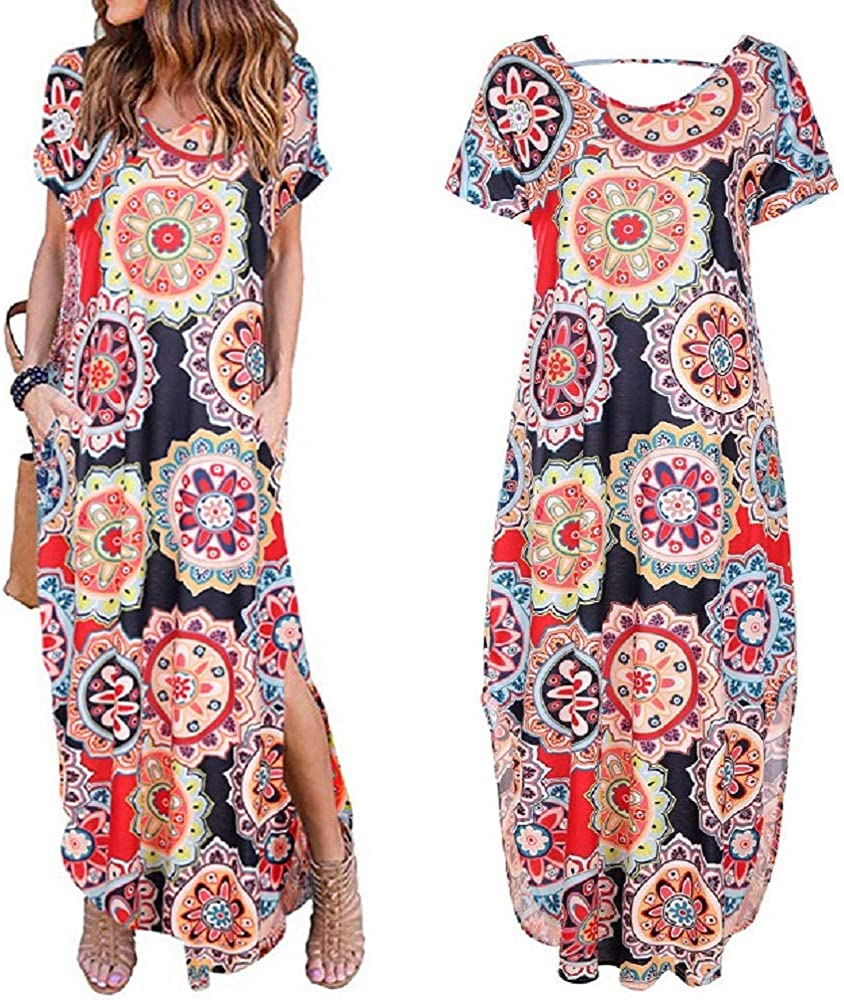 60% Off Coupon – Women's Printed Casual Dress
