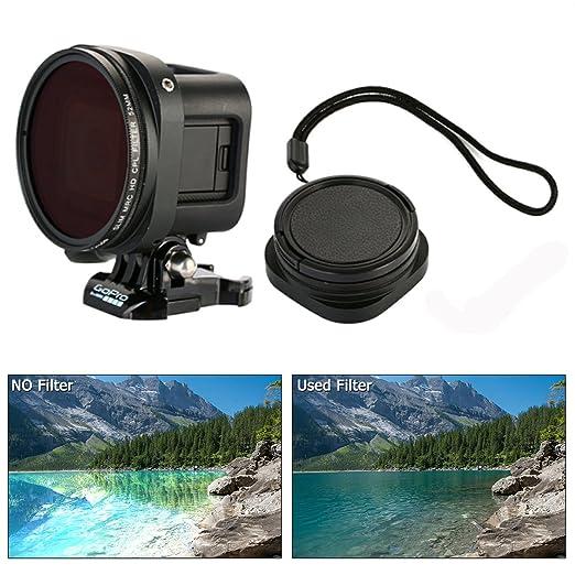 5 opinioni per 52mm Adattatore anello/Adapter ring + 52 mm Filtri Lenti Polarizzazione