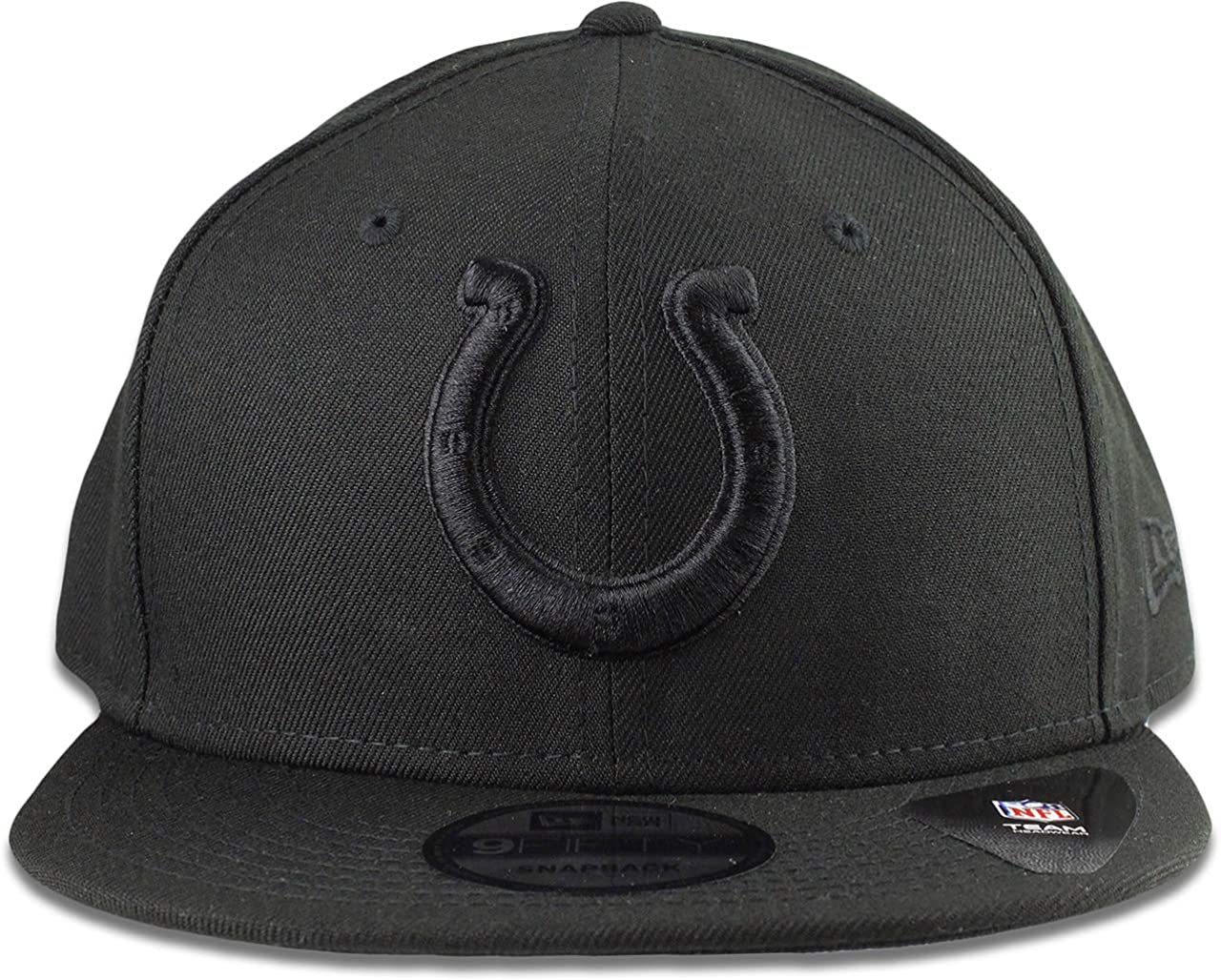 buy popular cheap for sale best online Amazon.com : New Era Indianapolis Colts Hat NFL Black on Black ...