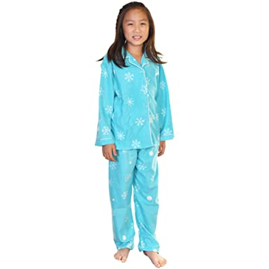 c4de287368e1 Amazon.com  Angelina Girl s Cozy Fleece Pajama Set  Clothing