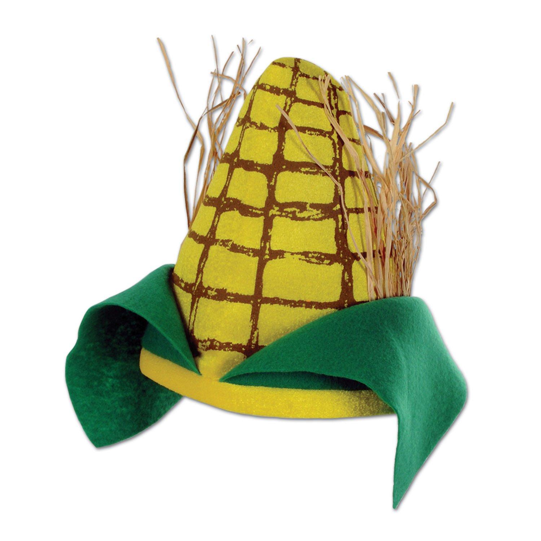 Beistle 60674 Plush Corn Cob Hat by Beistle