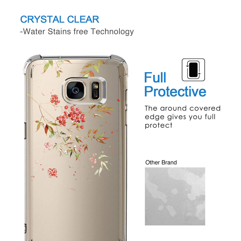 3, Samsung Galaxy S7 Edge Ultra d/ünn S6 Edge Plus TPU Bumper Cover Schutzh/ülle Transparent Case Soft Flex Silikon Case f/ür Galaxy S6 Edge Bigbigjk H/ülle kompatibel mit Samsung Galaxy S6 handyh/ülle