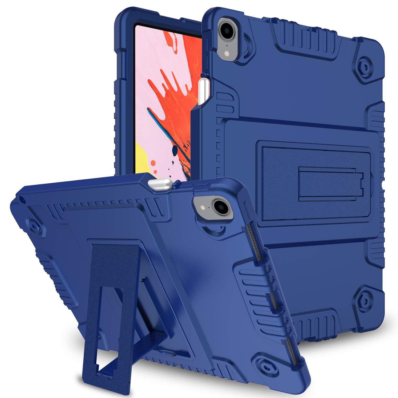 配送員設置 Zenic iPad Pro iPad 11ケース ペンシルホルダー付き (Apple B07KRZJQWR ブルー Pencil充電に対応) スリム 軽量 キックスタンド シリコン保護ケース iPad Pro 11インチ 2018年リリース対応 ブルー 201560 ブルー B07KRZJQWR, いいもん:eda9ffd4 --- a0267596.xsph.ru