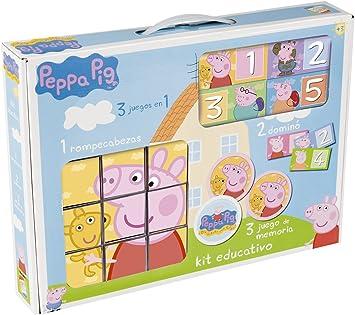 Cefa 88234 - Kit Educativo Peppa Pig: Amazon.es: Juguetes y juegos