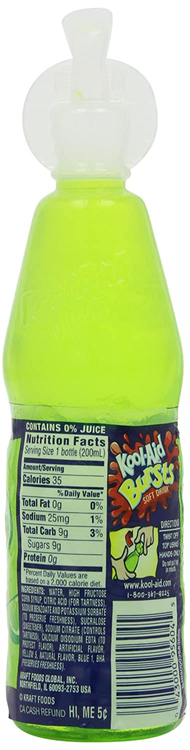kool aid squeeze bottle nutrition facts nutrition ftempo. Black Bedroom Furniture Sets. Home Design Ideas