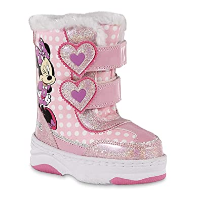 high quality materials quality first fine craftsmanship Amazon.com | Disney Minnie Mouse Toddler Girls Pink Winter ...