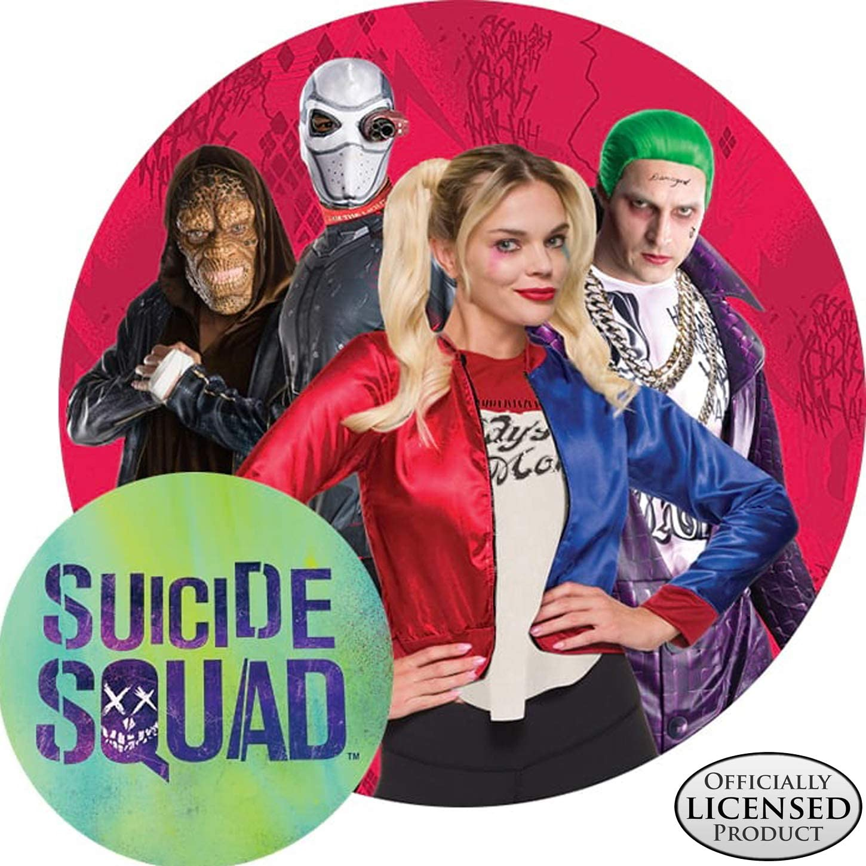 Amazon Com Rubie S Men S Suicide Squad Deluxe Joker Costume Clothing