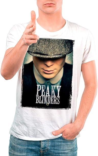 DibuNaif Camiseta Serie Hombre - Unisex Peaky Blinders ...