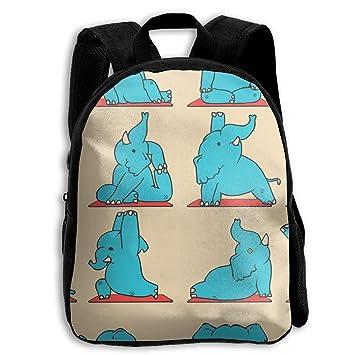 ADGBag Children Boys Girls Elephant Yoga Backpack Shoulder ...