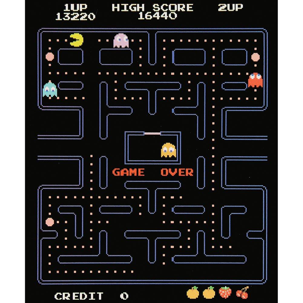 Pac-Man Game Over Screen Fleece Throw Blanket