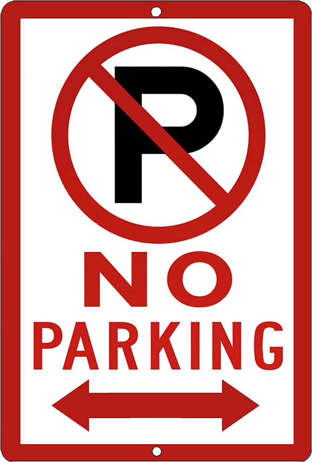 No Parking Arrow Metal Tin Sign Business Retail Store Home Large Restaurant Bar Office Hotel Parking Lot