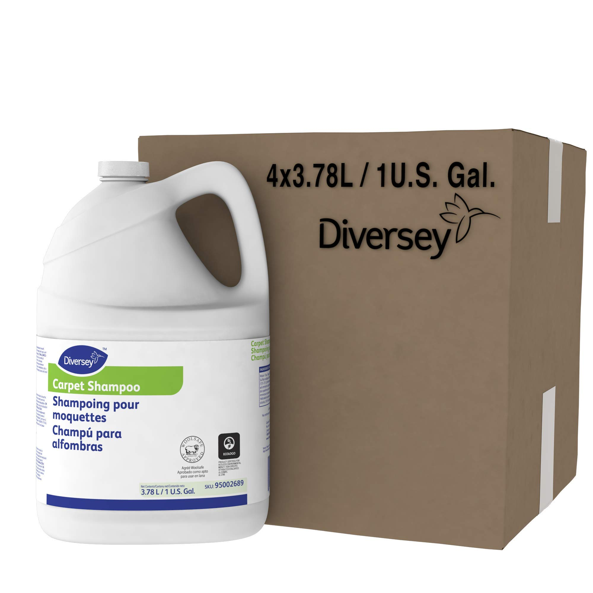 Diversey Carpet Shampoo (1-Gallon, 4-Pack) by Diversey (Image #5)