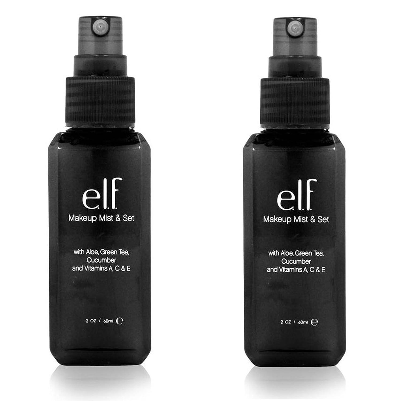 (2 Pack) E.l.f. Studio Makeup Mist & Set - Clear by e.l.f. Cosmetics