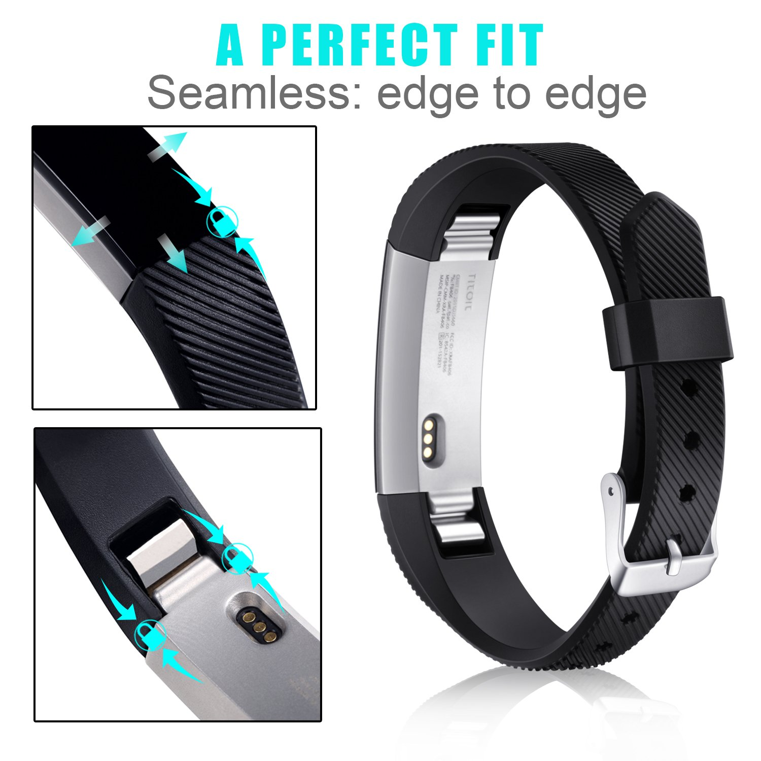 Fitbit Konikit Adjustable Replacement Accessory Image 2