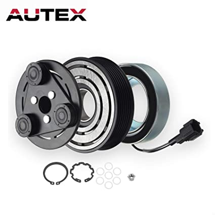 AUTEX AC A/C Compressor Clutch Coil Assembly Kit 92600EA31A Fits for 2012 2013 2014 2015 Nissan Frontier 2005 2006 2007 2008 2009 2010 2011 2012 2013 2014 ...