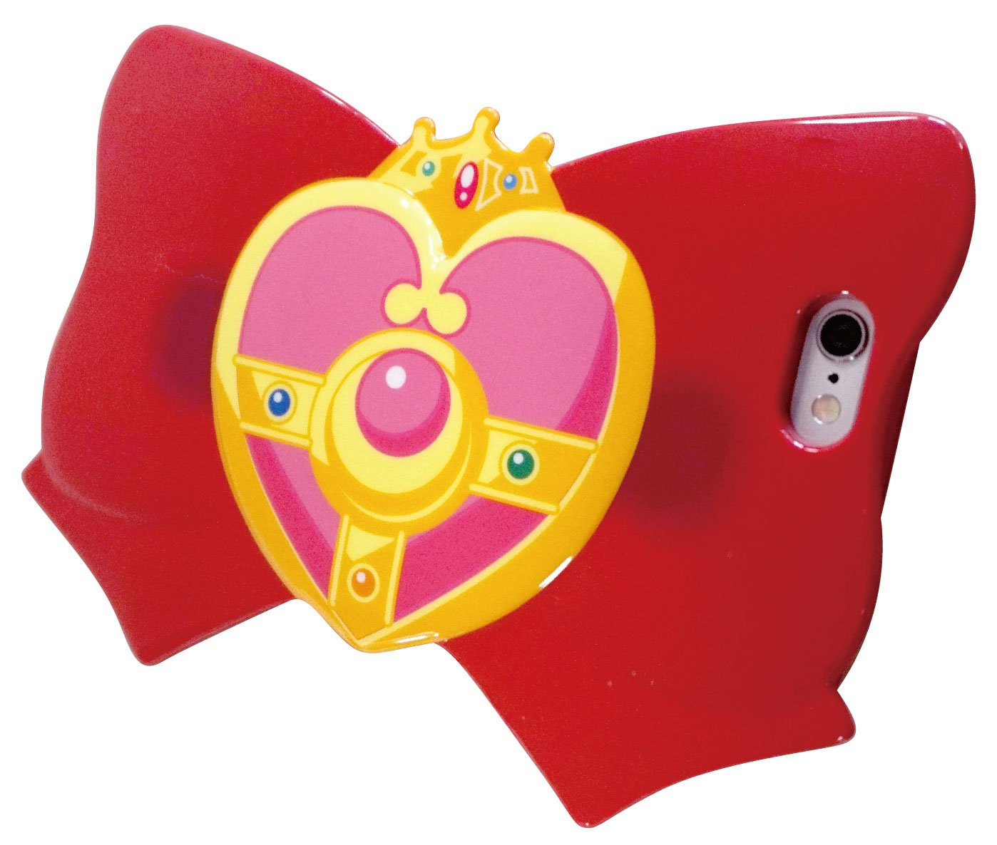 Sailor Moon iPhone6 Case Soft TPU (Thermoplastic Polyurethane) Cover Ribbon Jacket Cosmic heart compact Kozu Mick heart compact Bandai SLM-32A