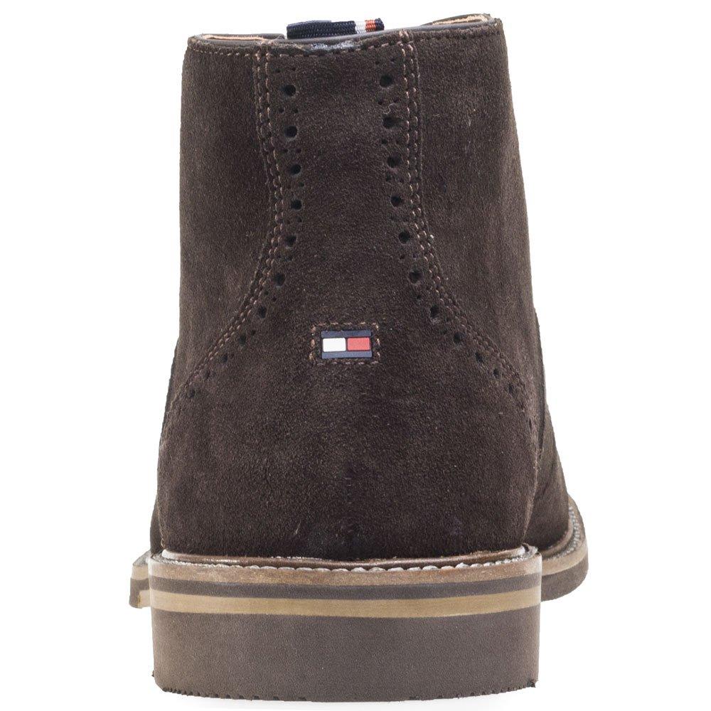 Tommy Hilfiger C2285Aper 2B, Botines para Hombre, Marrón (Coffeebean212), 42 2/3 EU: Amazon.es: Zapatos y complementos