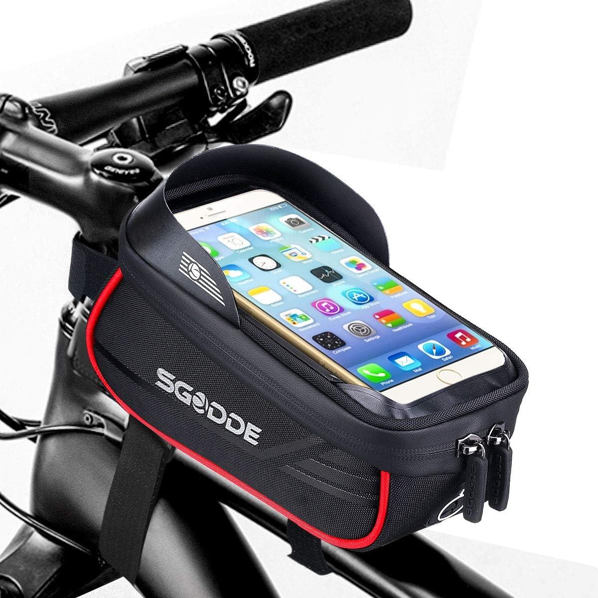 Bolsa impermeable Sgodde para bicicletas por sólo 12,59€ con el #código: SGODDE705