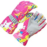 COPOZZ Waterproof Ski Snowboard Gloves for Men Women Thinsulate Winter Insulated Motorcycle Snowmobile Warm Gloves w/Zippered Pocket