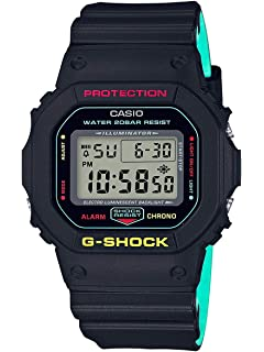 c64129e89 Amazon.com: CASIO G-SHOCK THROW BACK 1983 DW-5600TB-1JF MENS JAPAN ...