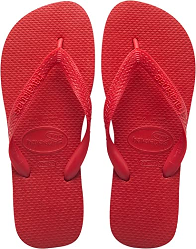 8fc2a90bf3e12 Image Unavailable. Image not available for. Color  Havaianas Top - Classic  Thong Flip Flops-Red