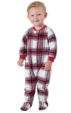 236584447801 Amazon.com  PajamaGram Infant Fleece Footie Pajamas Onesies  Clothing