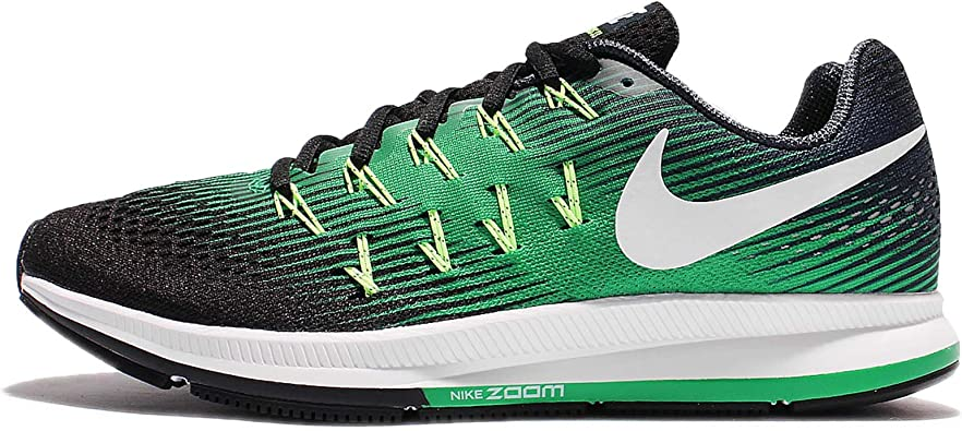 Nike Mens Air Zoom Pegasus 33, ARMORY NAVY/WHITE-BLACK, 15 M US ...