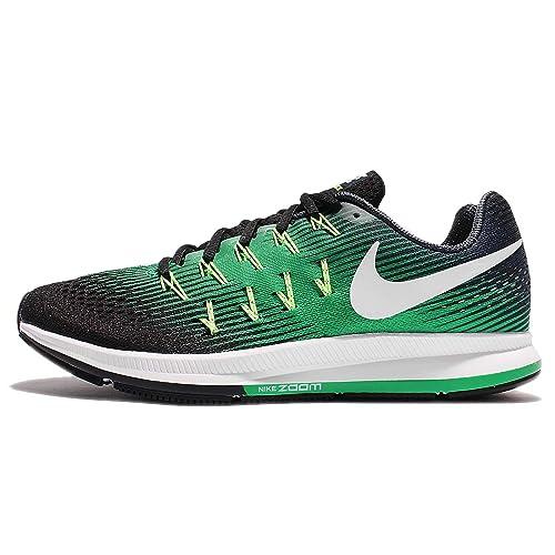 1bb3fbfec3baa9 Nike Air Zoom Pegasus 33 Armory Navy White Black Stadium Green Men s  Running Shoes  Amazon.ca  Shoes   Handbags